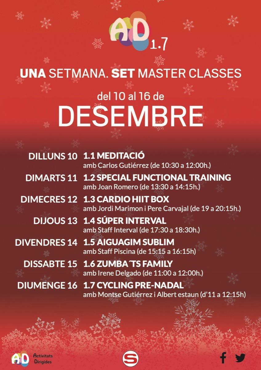 Masters Diciembre '18