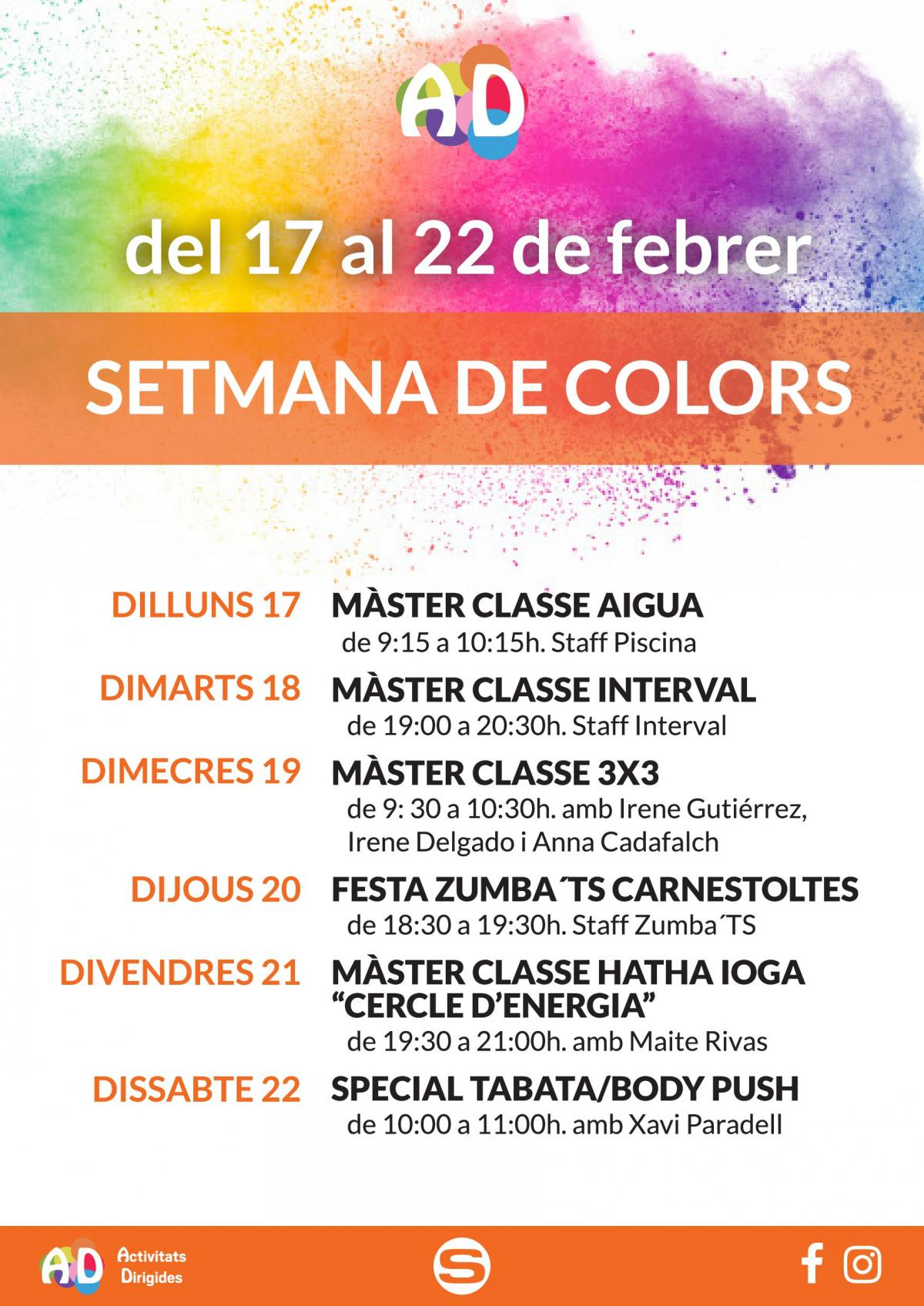 Semana de colores